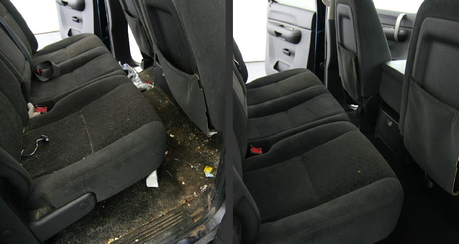 Химическая очистка салона автомобиля