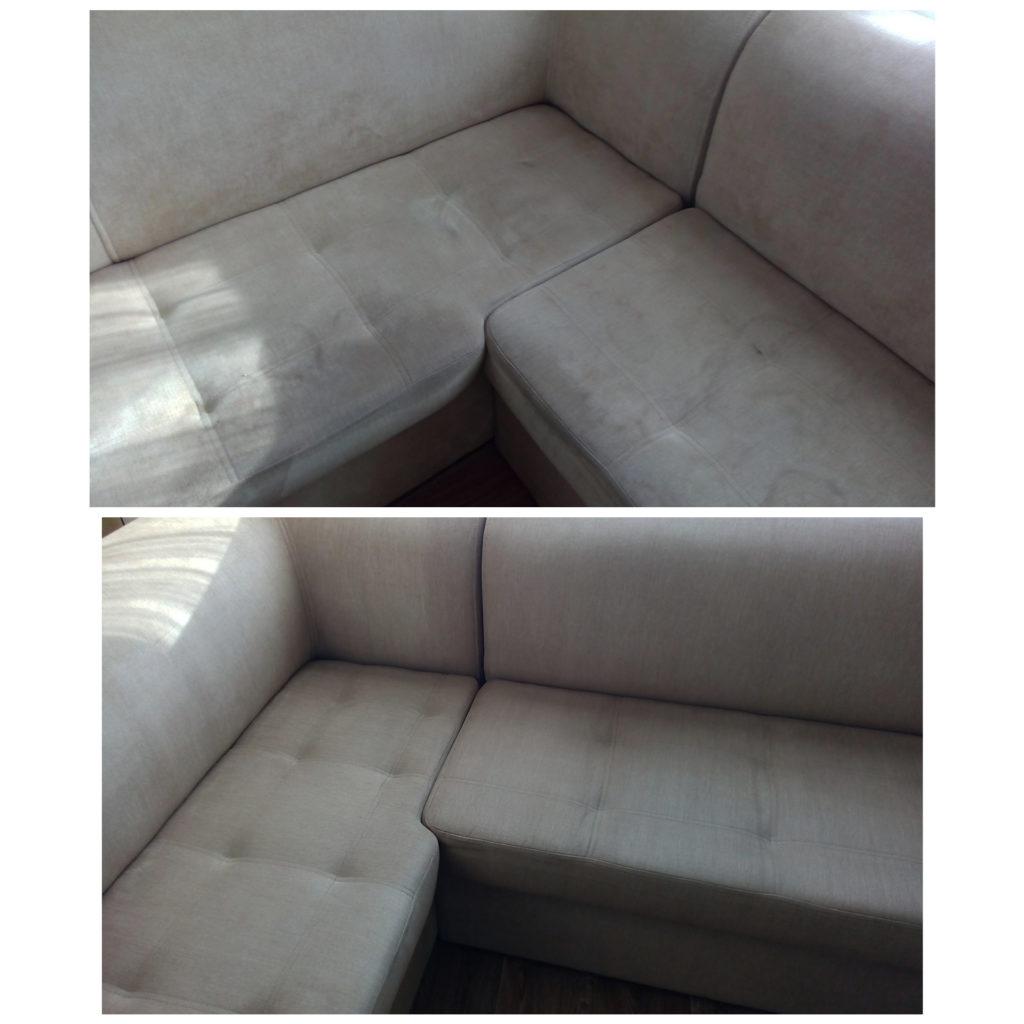 Самостоятельная чистка дивана